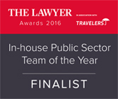 The Lawyer Awards 2016 Finalist nplaw