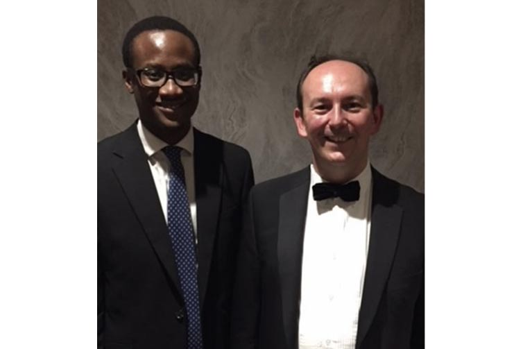 Andrew Brett and Elute Ogedegbe of nplaw at the SLCC National Conference