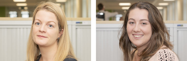 Jodie Cunnington-Brock and Beth Stokes join us as trainee solicitors