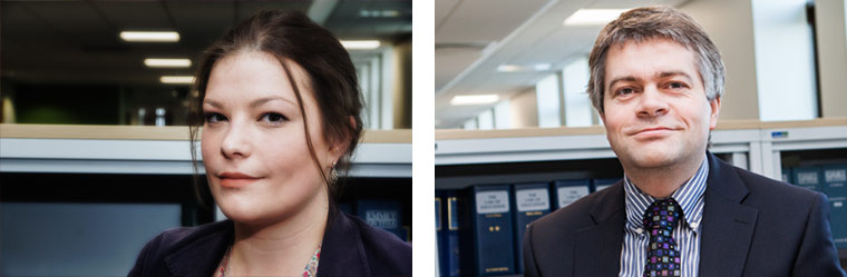 Naomi Rankin and Mike Garwood shortlisted for NNLS Excellence Awards